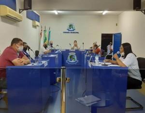 COMISSÃO DE LEGISLAÇÃO DA CÂMARA SE REÚNE COM SINDICATO DOS SERVIDORES MUNICIPAIS